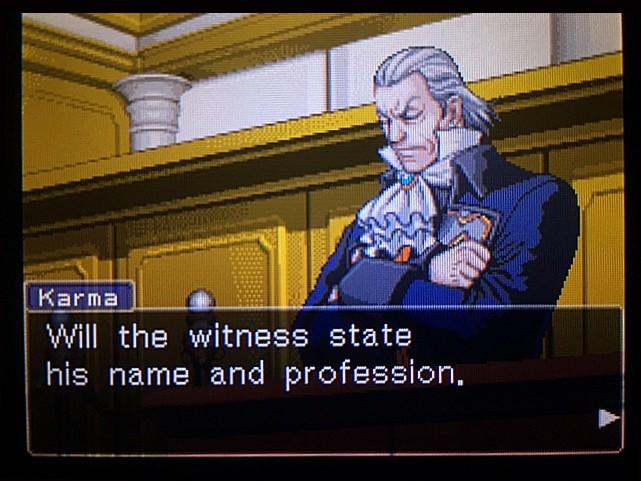 逆転裁判 北米版 DL-6法廷、開廷11