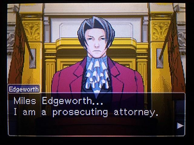 逆転裁判 北米版 DL-6法廷、開廷12
