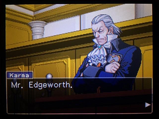 逆転裁判 北米版 DL-6法廷、開廷13