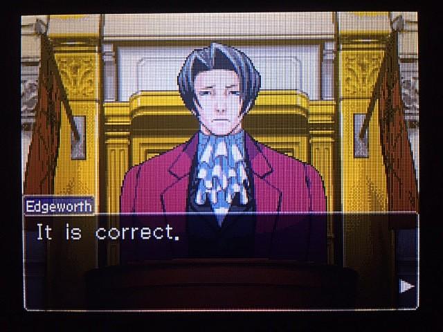 逆転裁判 北米版 DL-6法廷、開廷15