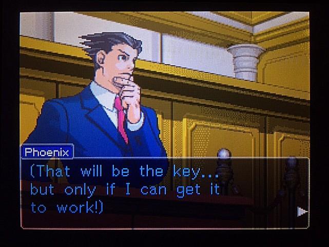 逆転裁判 北米版 DL-6法廷、開廷18