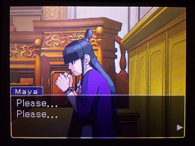 逆転裁判 北米版 DL-6法廷、開廷19