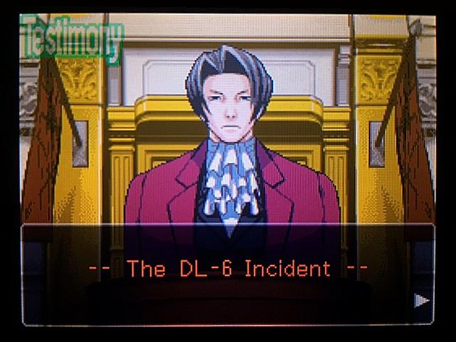 逆転裁判 北米版 DL-6法廷、開廷20
