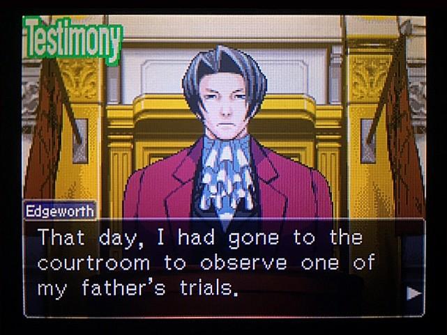 逆転裁判 北米版 DL-6法廷、開廷21