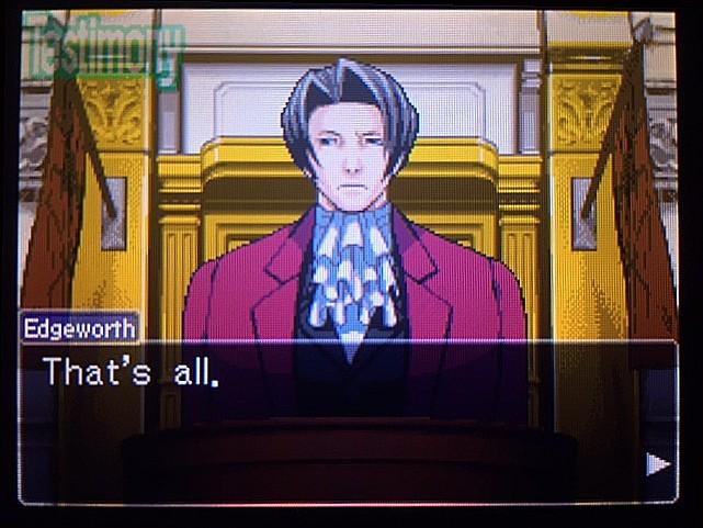 逆転裁判 北米版 DL-6法廷、開廷26