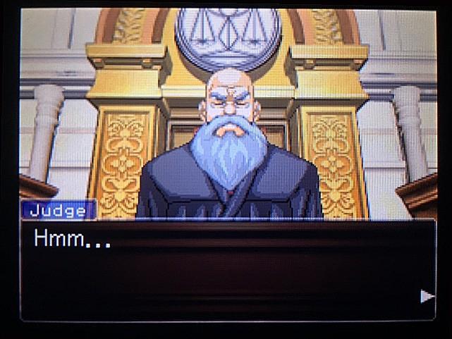 逆転裁判 北米版 DL-6法廷、開廷27