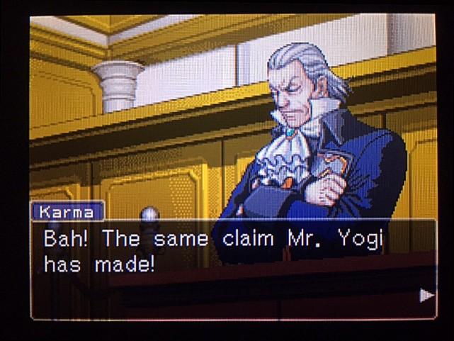 逆転裁判 北米版 DL-6法廷、開廷31