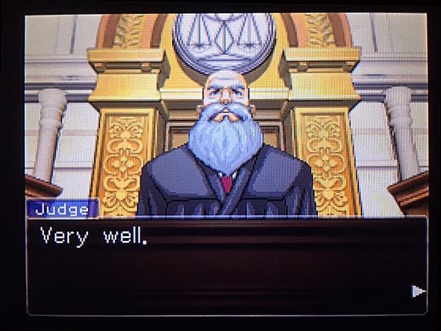 逆転裁判 北米版 DL-6法廷、開廷32