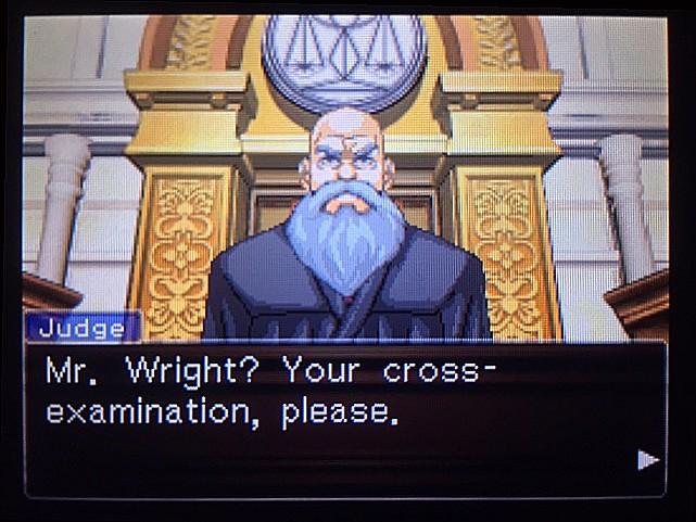 逆転裁判 北米版 DL-6法廷、開廷33