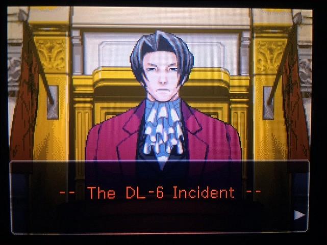 逆転裁判 北米版 DL-6の銃声1
