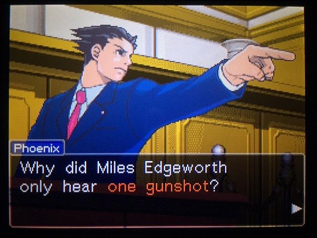 逆転裁判 北米版 DL-6の銃声20