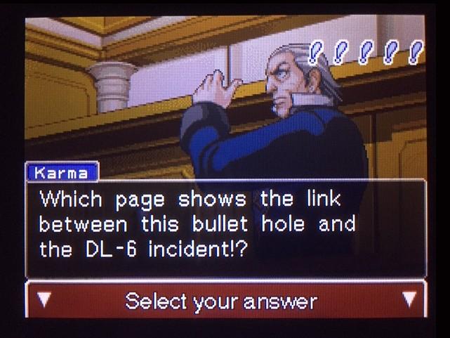 逆転裁判 北米版 DL-6の銃声32