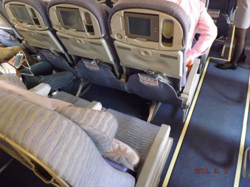 チャイナエアー A330機内