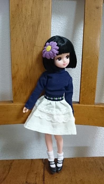 おもちゃ屋さんレーススカートお花