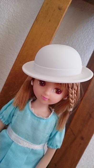 ナイロビリカちゃん水色ワンピ帽子909