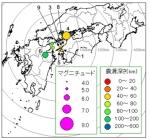 瀬戸内地震分布