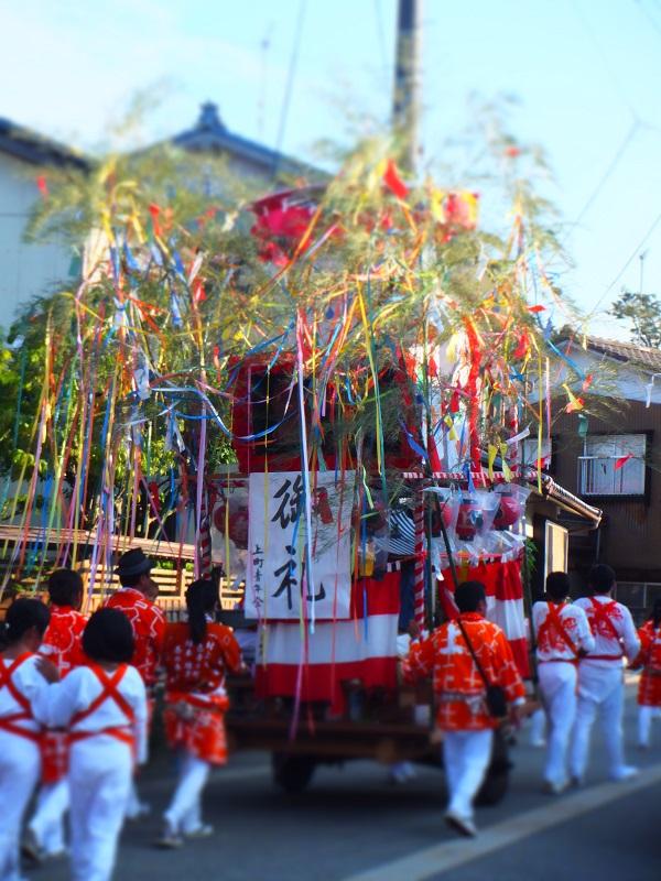 七夕祭り 屋台 上町