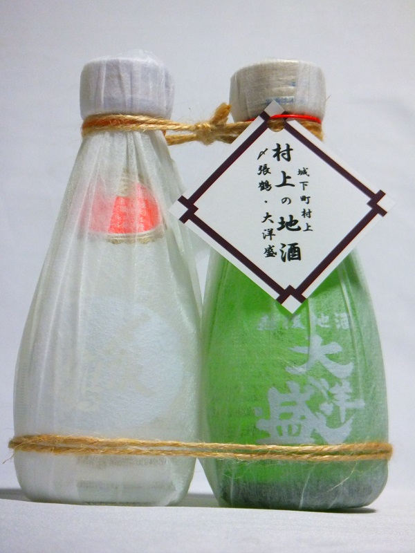 しばりセット 〆張 大洋 一合瓶