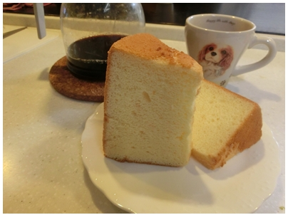 大西さんのシフォンケーキ