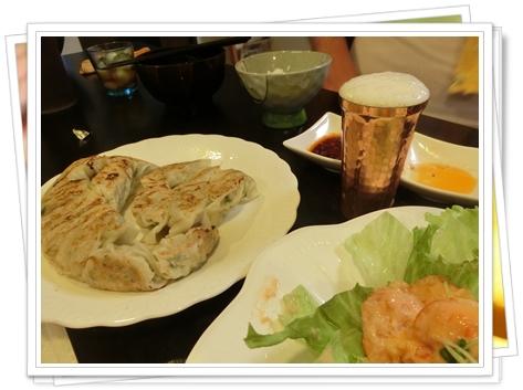 餃子とエビマヨ2