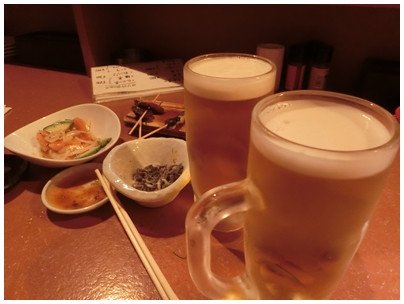 2杯めビール