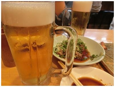 二杯目ビール