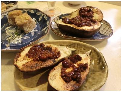 三豊ナスと田楽味噌
