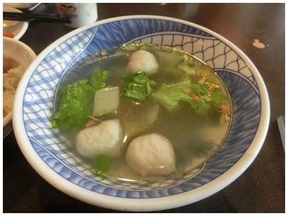 魚肉スープ