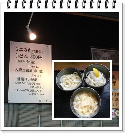 白川うどん4(3種)