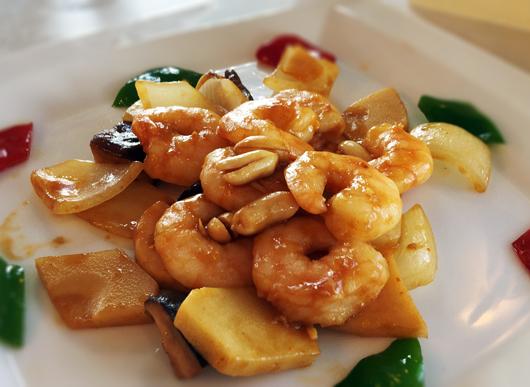海老とピーナッツの味噌炒め