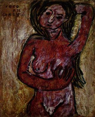 裸婦 1954