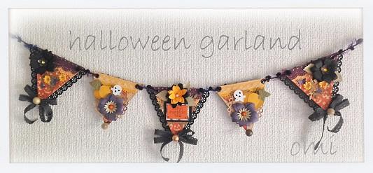 halloween garland 1s