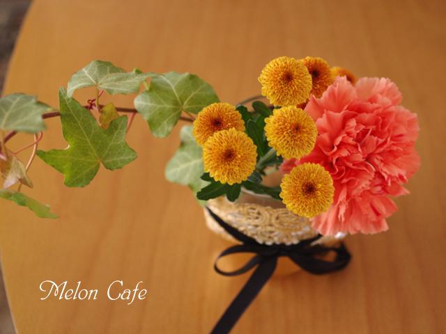 花と料理で楽しむハッピーハロウィンその202