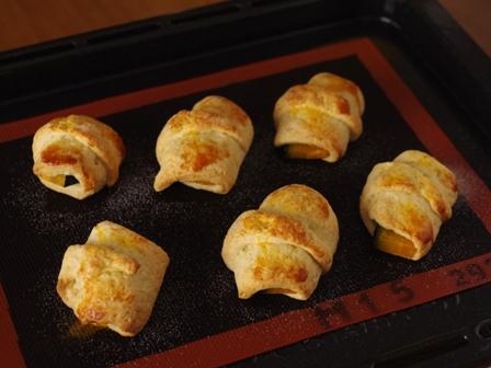 ホットケーキミックスで簡単ちょこっとおかずパン焼き芋とかぼちゃ03