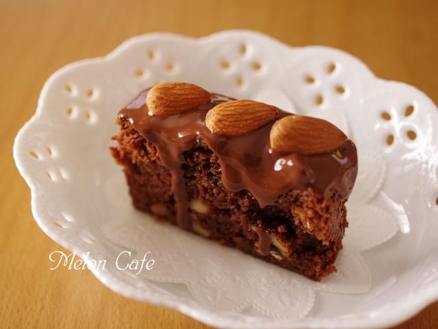 ホットケーキミックスで簡単チョコレートブラウニー