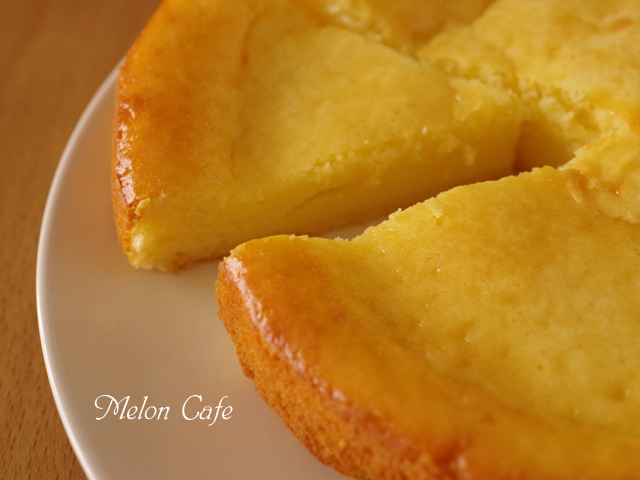 ホットケーキミックスとヨーグルトで、クリームチーズ節約ベイクドチーズケーキ