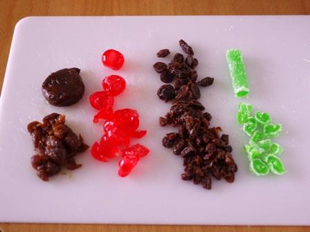 ホットケーキミックスでカップケーキの簡単クリスマスシュトレン05