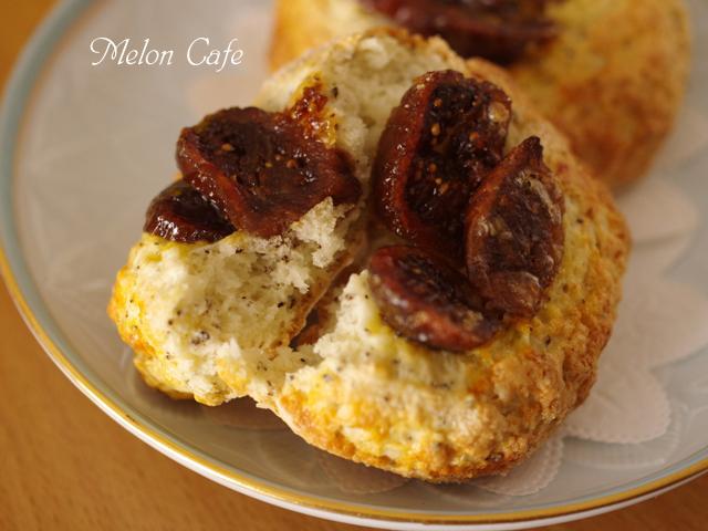 ホットケーキミックスで作るドライフィグでイチジクの簡単さくさくパン00