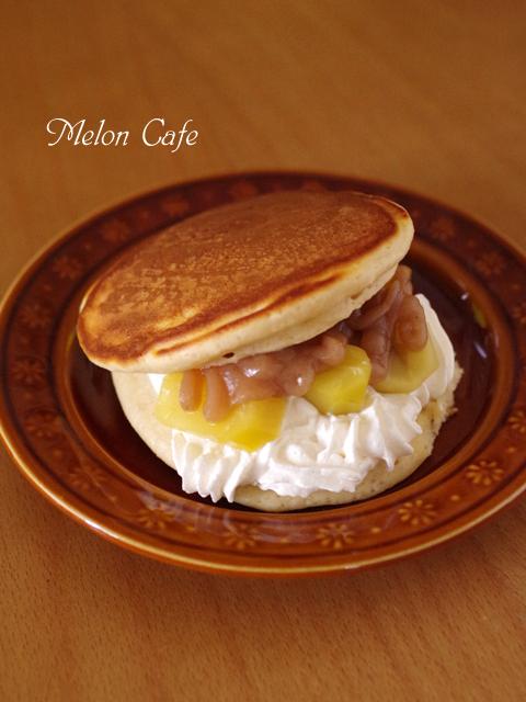 ケーキのようなホットケーキミックスで作る簡単モンブランの贅沢ホットケーキ00