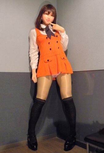 オレンジワンピ1