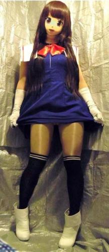 青ドレスア03