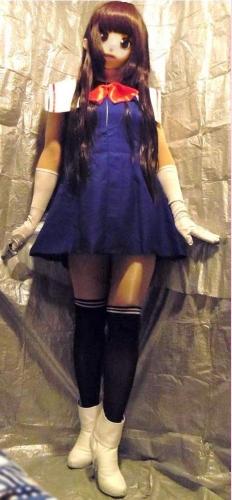 青ドレスア01
