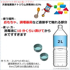 消毒液の作り方(0.02%消毒液)1-300x300