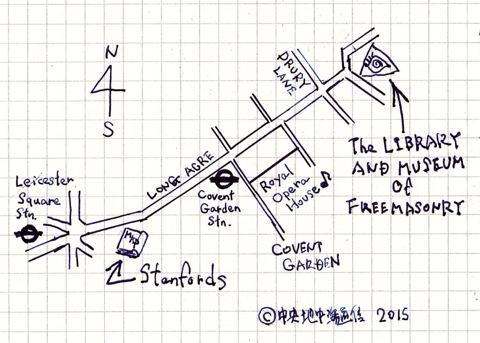 STANFORD LONDON MAP スタンフォーズ 地図