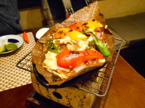 牛肉朴葉焼き