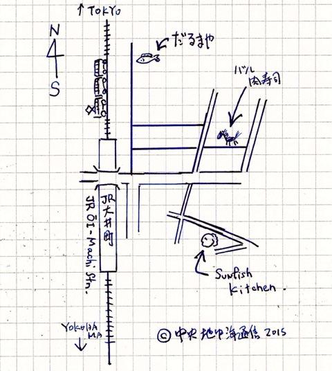 大井町 地図