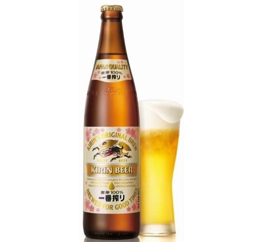 キリンビール一番搾り