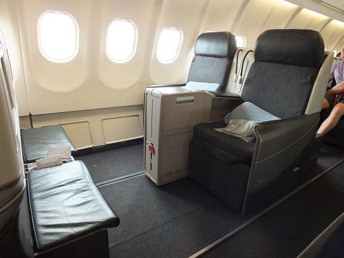 トルコ航空ビジネスクラスシート