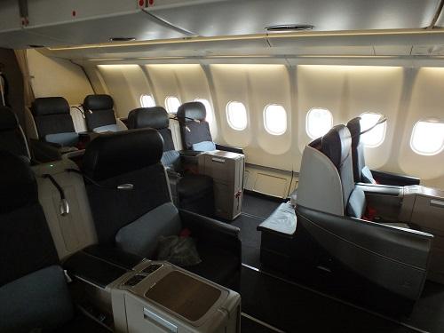 トルコ航空ビジネスクラス