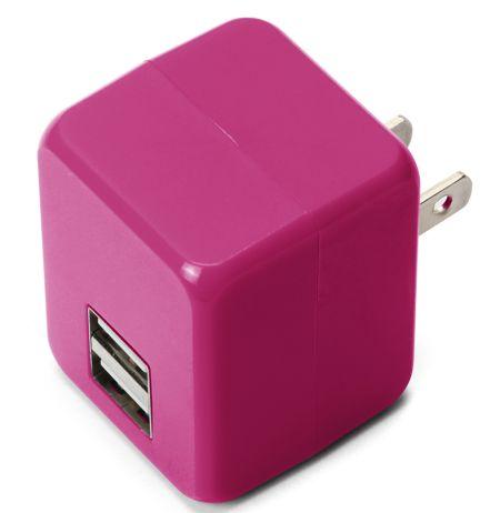 「USB電源アダプタ キューブタイプ」-1